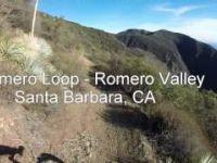 Romero Loop Mountain Bike Ride Santa Barbara CA