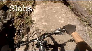 Mountain Biking Slabs Trail - Three Blind Mice, BC