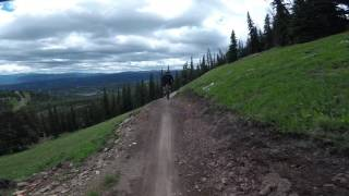 Big Sky Resort - Bike Park - Snake Charmer -...