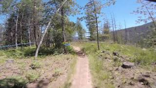Silver Mountain Bike Park - NAEC 2017 Stage 1...