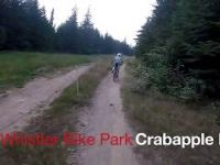 Hitting Crabapple first time - Whistler Bike...