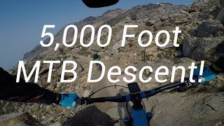 Epic MTB Descent in Whistler-Top Of The World,...
