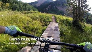 Utah MTB Trails Burro Pass, Moab, Utah First...