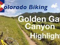 Mountain Biking Golden Gate Canyon State Park...