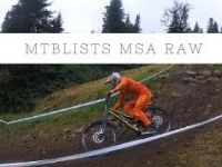 2017 UCI downhill worldcup MSA raw footage