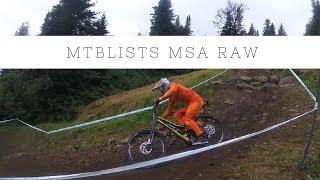 2017 UCI downhill worldcup MSA raw footage