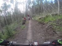 Mountain Biking the new Aspen Alley Trail -...