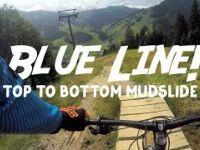 BLUE LINE w/ JOKER CARD SAALBACH INFO |...