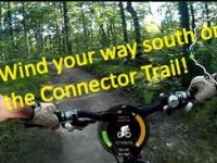 Kelso MTB Rider - Connector Trail South Segment