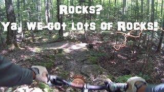 Lindsay Tract MTB Trail - Rock Gardens, Rocks...