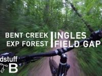Mountain Biking Ingles Field Gap in Bent Creek, NC