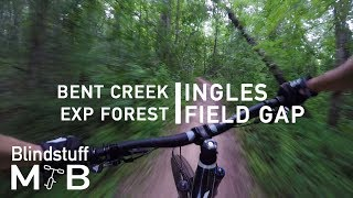 Mountain Biking Ingles Field Gap in Bent Creek, NC