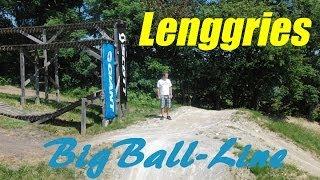 First Visit to Bikepark Lenggries - BigBall Line