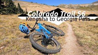 Mountain Biking Kenosha to Georgia Pass :||:...