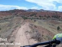 Utah MTB Trails Jazz, Red Fleet, Vernal, Utah