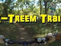 Kelso MTB Rider - Full X-Treem Trail - Going UP