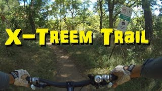 Kelso MTB Rider - Full X-Treem Trail - Going UP