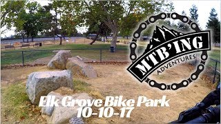 Bike park update 10-10-17 (Elk Grove, CA)