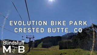 Mountain Biking Evolution Bike Park in Crested...