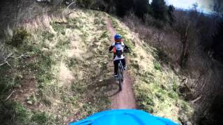 1st out to Alyth Bike Park with the loon