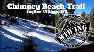 Chimney Beach Trail (Incline Village, NV)...
