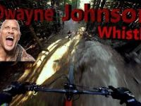 Dwayne Johnson Big Air Line, Whistler Bike Park