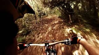 Aguacate local bike trail  in cabarete