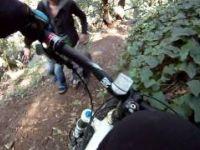 Down Dimond Canyon Switch Backs