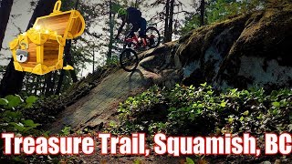Treasure Trail in Squamish is insane!