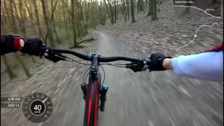 Zamilec trail (stezka vhodná pro MTB, Brno)