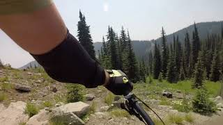 Mountain Biking Rossland, BC - Seven Summits Trail
