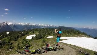 Mountain Biking Revelstoke, BC - Frisby Ridge...