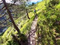 Bike Park Les Arcs SECRET TRAIL 'FARMER JACKS'...