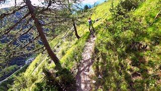 Bike Park Les Arcs SECRET TRAIL 'FARMER JACKS'...