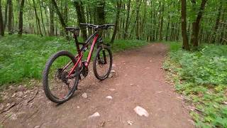 Trail Hornek (stezka vhodná pro MTB, Brno)