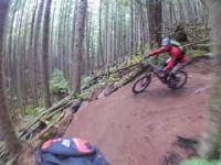 Squamish Enduro MTB Trails Alice Lake - Man Boobs