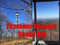 Beebe Hill - Fire Tower Descent