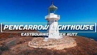Reverse Fatbike run to Pencarrow Lighthouse in 4K