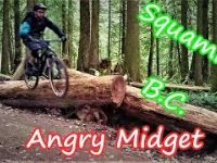 Angry Midget Trail in Squamish, B.C. with Per