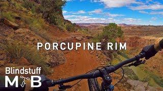 Porcupine Rim, Moab, UT | From snow to desert...