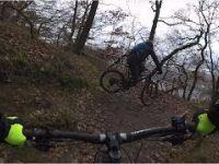 Mountainbiken im Schlamm   Dortmund