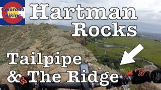 Mountain biking Hartman Rocks: Tail Pipe &...