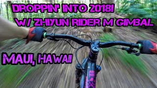 2018! New Years Day Shredding / Zhiyun Rider-M...