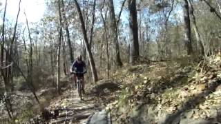 Kelley Branch MTB ride - Finger Lakes State Park
