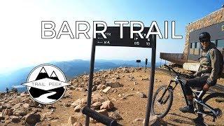 Jibbin' it on Pikes Peak - Barr Trail -...