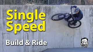 Singlespeed Hardtail Conversion - Build & Ride