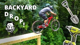 Backyard North Shore MTB Drop - Building and...