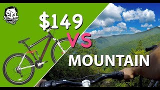 $149 Mountain Bike vs mountain - The Walmart...