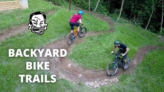 Backyard MTB Trails - Building & Riding!
