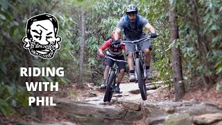 Mountain Biking with Phil Kmetz in North...